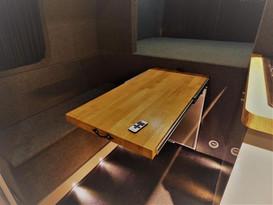 bespoke campervan table