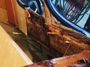 caravan damp repair