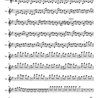 Asturias - Albeniz -Angie Violinist -Arrange