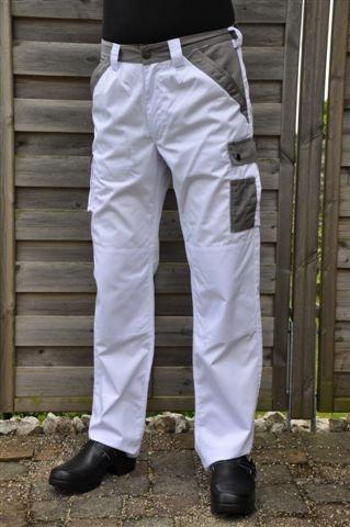 Pantalone da lavoro Atlas (Bianco)