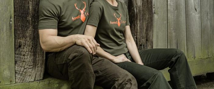 JAGD T-shirt Donna FORESTLINE