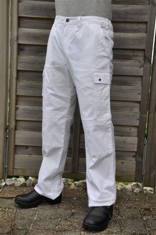 Pantalone da pittore Boston (Bianco)
