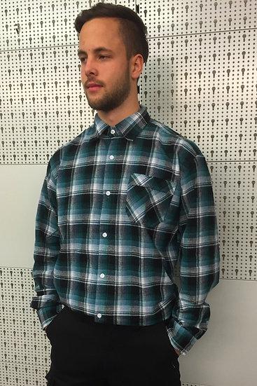 Camicia da stalliere in flanella - maniche lunghe