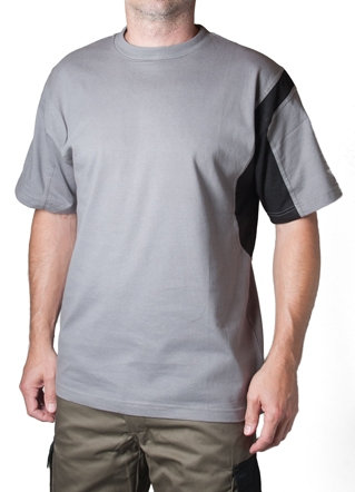T-Shirt da lavoro grigia