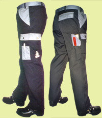 Pantalone Ranger - (Nero-Grigio)