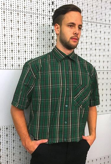Camicia da stalliere in cotone - maniche corte