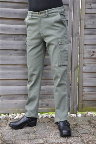 Pantalone da lavoro Hunter - Heavy Duty (Verde)