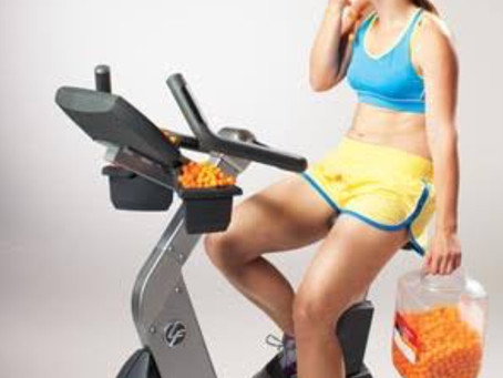 Why exercising on a poor diet won't work!