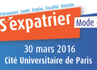 One day dedicated to expatriation in Paris on March 30th 2016