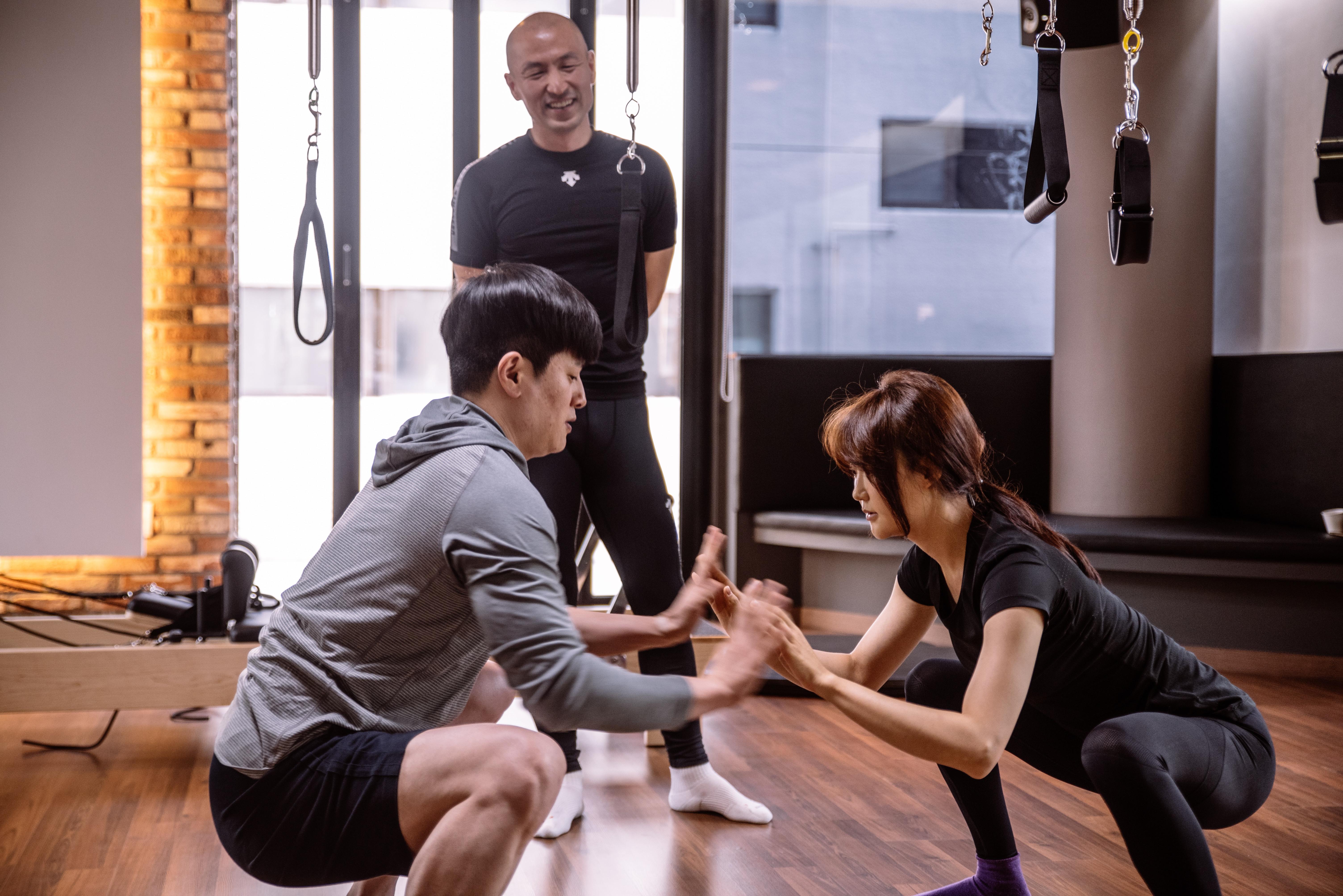 Pilates Solution 그룹 레슨