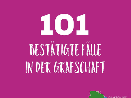 ***Über 100 bestätigte Covis19-Fälle in der Grafschaft Bentheim***