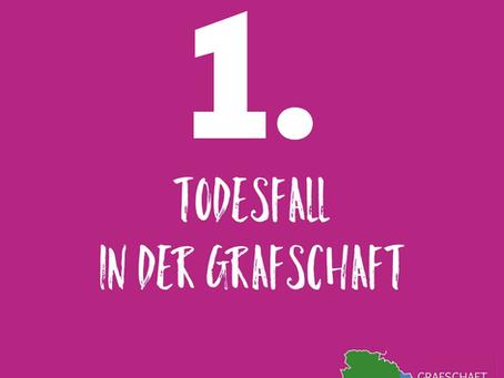 ***Erster Todesfall (Nordhorn) in der Grafschaft laut Landkreis***