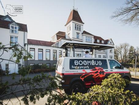 GGC-BoomBus-Tour schenkte viel Freude und setzte ein tolles Zeichen, dennoch drücken wir kurz Pause