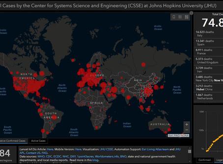 ***Hier die aktuellen Zahlen von der John Hopkins University (Stand: 07.04.2020 9.45 Uhr) ***