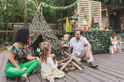 Festa Infantil no tema Camping