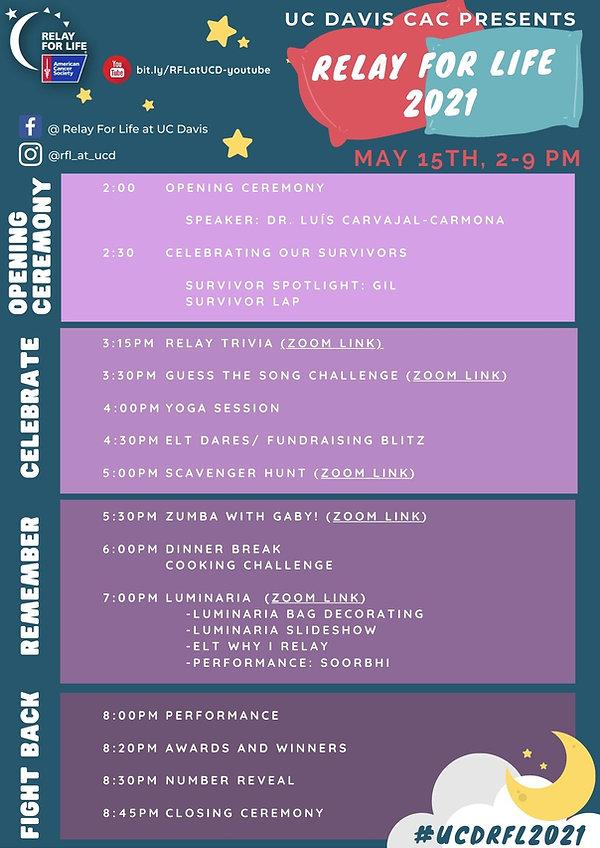 Colorful Bold Creative Work Schedule Pla