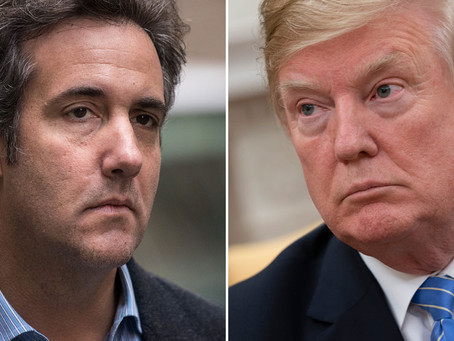 Cohen Recorded Conversations with Trump about Paying Hush Money to Ex-playmate