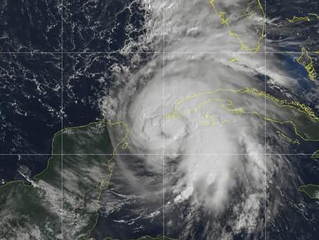 飓风迈克肆虐美国东南部各州。Global Warming is real.