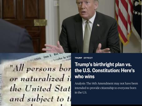 川普移民政策又出狠招