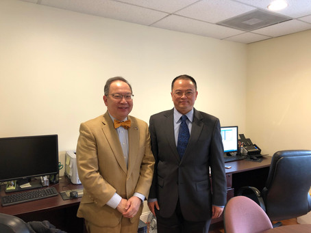 Honorable Judge Tran Visited My Law Firm