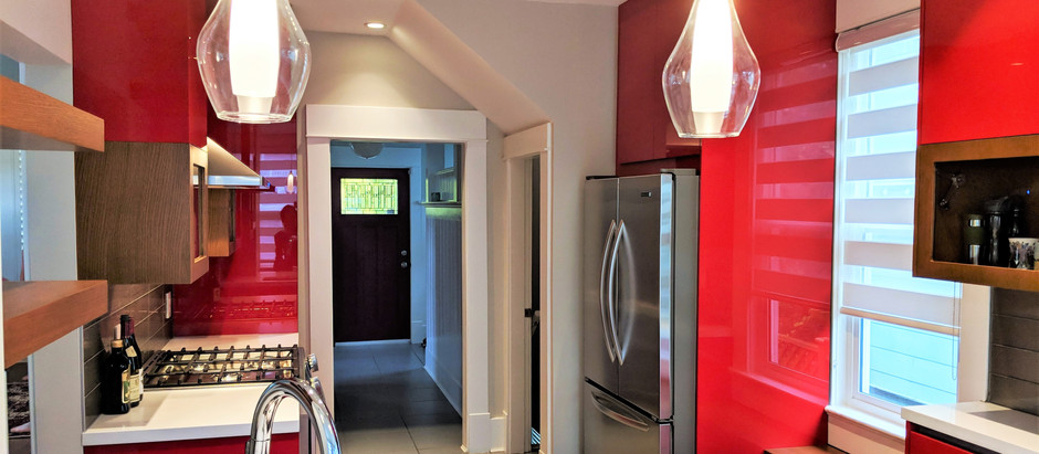 Designing the Red Kitchen