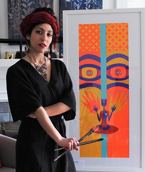 Sepideh Meshkin Art