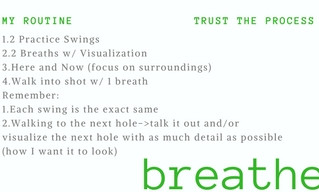 """It's Masters Week: Tips for Staying in the """"Flow"""""""