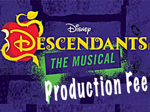"""""""Descendants"""" Production Fee Due April 1"""
