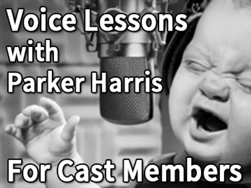 Theater Cast Member Voice Lesson with Parker Harris