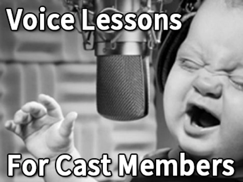 Theater Cast Member Voice Lesson