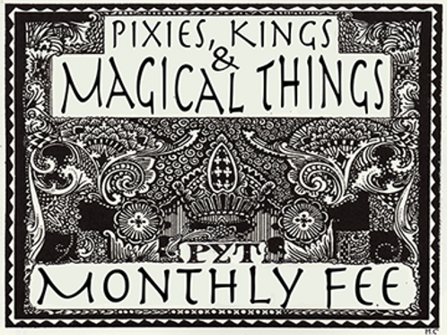 Pixies, Kings... Cast Fee (Due by 1st of Month)