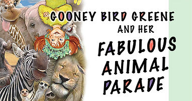 Gooney Bird Animal Parade WEBSITE Graphi