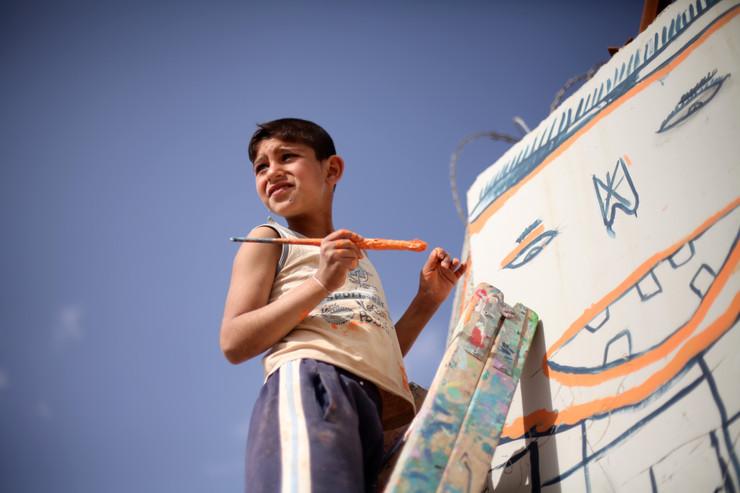 Smiles in Za'atari
