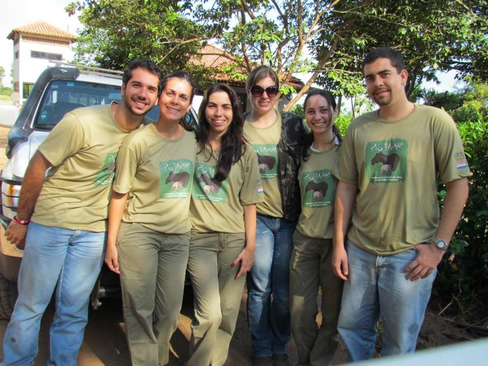 Membros: Igor, Luana, Andressa, Kiki, eu e Jardel.