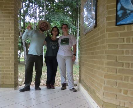 Victor, Andressa e Joana.