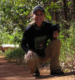 Cris e sua experiência no Pró-Tapir!