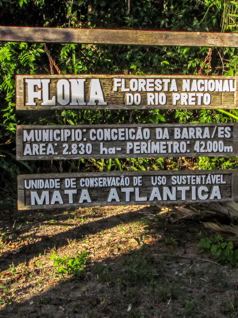 FLONA do Rio Preto.