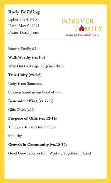 2021 05 09 FOREVER FAMILY Bulletin pg2.p