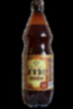 Бутылка хлебного натурального кваса