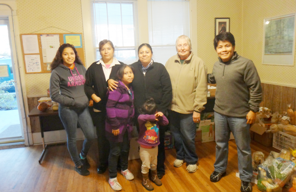 Some families receiving help