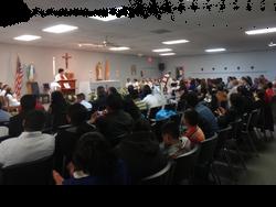 Celebrating Holy Mass