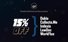 GF Docs - Descontos 15 em novos produtos