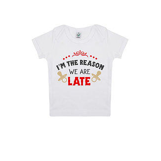 Tricou We Are Late