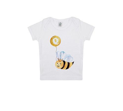 Tricou Alfabet Q