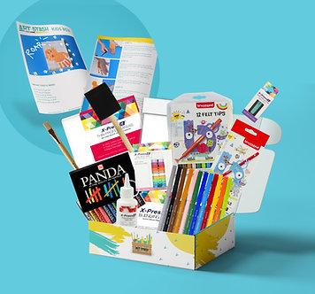 Kids art and craft box