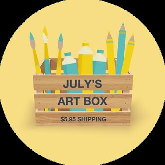 JULY'S ART BOX