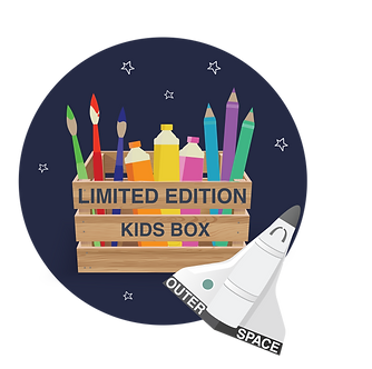 LIMITED EDITION KIDS OUTER SPACE BOX