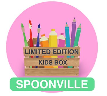 LIMITED EDITION KIDS SPOONVILLE BOX