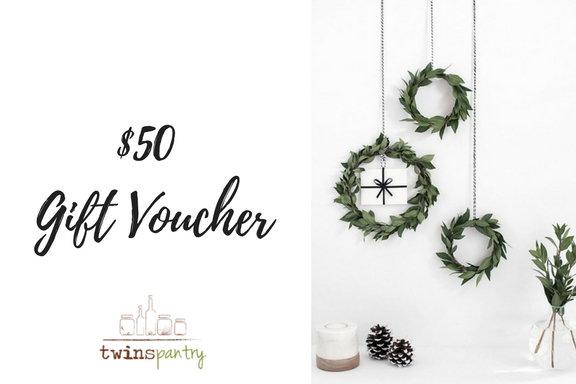 Gift Voucher worth $50