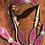 Thumbnail: Pink Crystal Bling Bridle Breast Collar Set